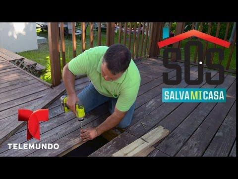 Sos salva mi casa c mo arreglar una madera torcida en - Como arreglar puertas de madera rayadas ...
