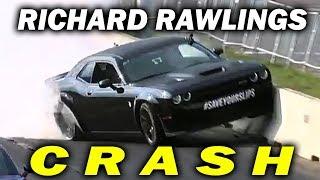 Watch Richard Rawlings Crash a Hellcat Into The Wall at Roadkill Nights