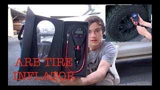 This is a quick unboxing and test of the New ARB Digital Tire Infla...
