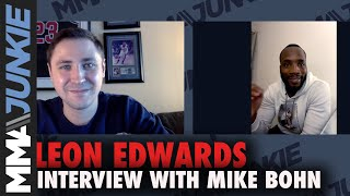 Leon Edwards: UFC made mistake with Khamzat Chimaev fight | UFC Fight Night interview