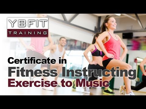 Qualify as an Exercise to Music Fitness Instructor with YBFit Training