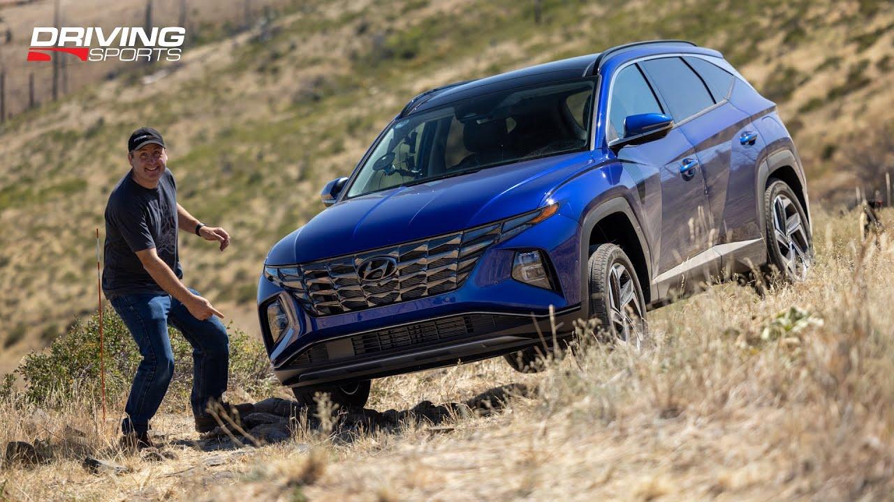 Off-Road Testing the 2022 Hyundai Tucson's HTRAC AWD