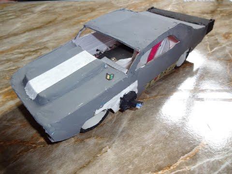 how to make a Chevrolet Camaro SS part 1
