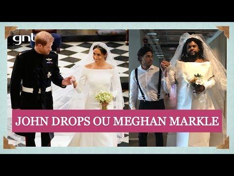 John Drops reproduz looks da noiva Meghan Markle e de Amal Clooney | Casamento Real