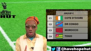 AFCON 2017 Group C Preview Ivory Coast, Togo, Morocco, DR Congo