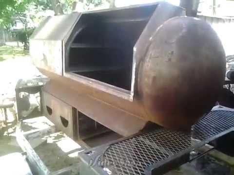 """Grill master"" bbq smoker build 3/5"