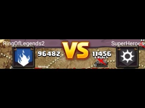 Clash Of Lords 2 Super Heroes VS Rings Of Legends