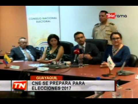CNE se prepara para elecciones 2017
