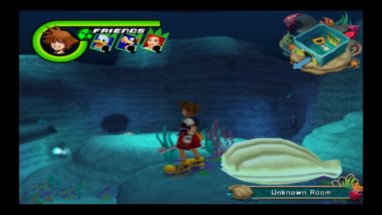 KH Re:CoM Hidden/ Secret Area Exploration - Undersea Valley ...