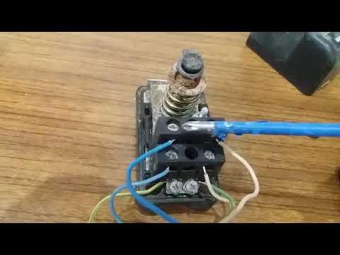 Как подключить реле давления к насосу схема
