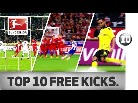 Top 10 Last Minute Free Kicks - Andersson, Diaz, Da Silva and More