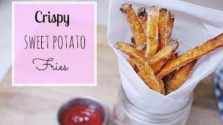 Crispy Oven Baked Sweet Potato Fries // MoreSaltPlease