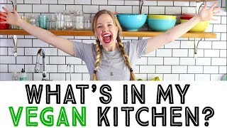 Vegan Fridge and Pantry Tour - Full Vegan Kitchen Tour!