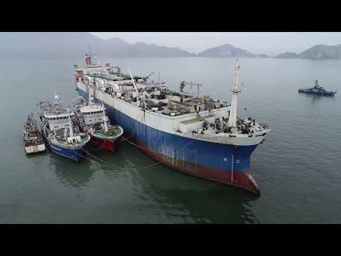 LARGEST FISH FACTORY VESSEL IN THE WORLD ARRESTED AND SEIZED