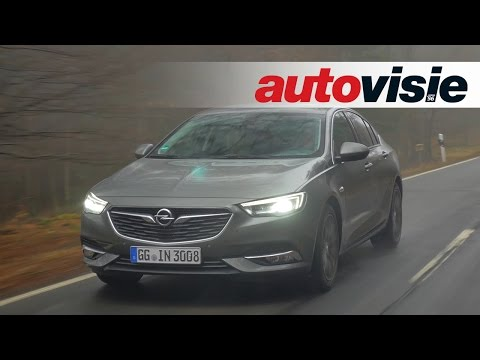 Review: Opel Insignia (2017) - by Autovisie TV