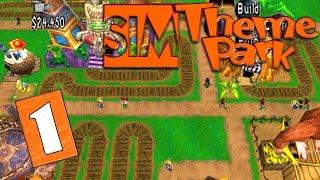 Sim Theme Park — 1 — Парк мечты! (Мечты курильщика)