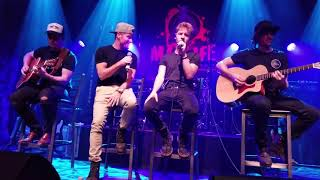 Baylee Littrell on a first ever duet with Brian Littrell (backstreetboys),  live show