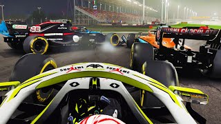 WHAT A RACE! CAN'T BELIEVE THESE RESULTS! ACTION GALORE! - F1 2020 MY TEAM CAREER Part 84