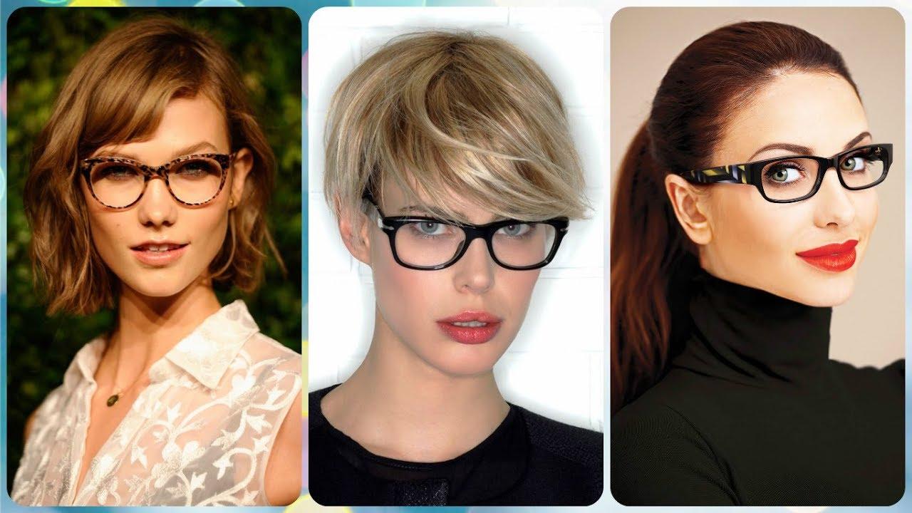 Die Moderne 20 Ideen Zu Frisuren Für Brillenträgerinnen 2019