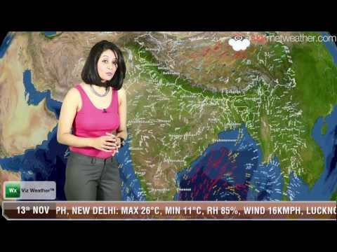 13/11/13 - Skymet Weather Report for India