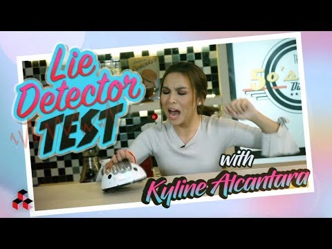 LIE DETECTOR TEST CHALLENGE WITH KYLINE ALCANTARA
