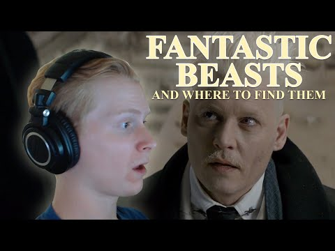 Watching The Harry Potter Prequel... Fantastic Beasts (REACTION)!