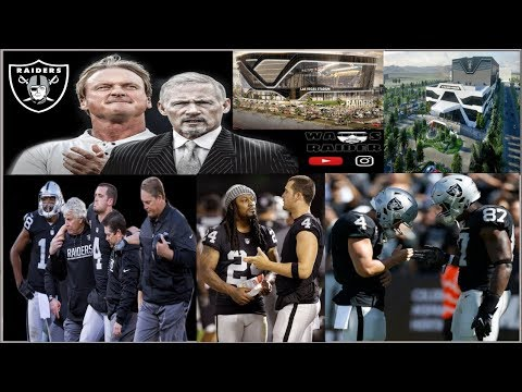 Oakland Raiders 2019 Derek Carr and Jon Gruden With Mike Mayock Is A New Beginning