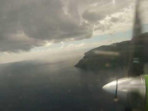 Takeoff in Anjouan, Comoros