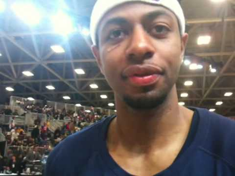 Mustafa Shakur after the D-League All-Star game