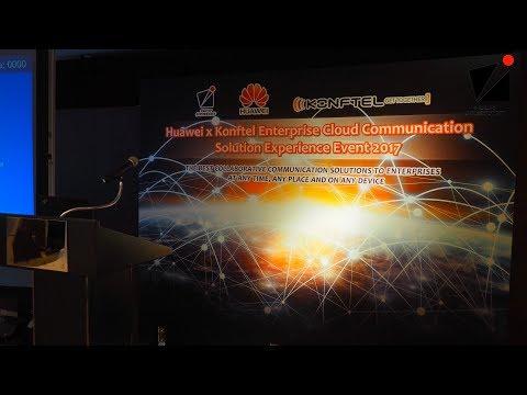 Huawei X Konftel Enterprise Cloud Communication Solution Experience Event 2017 Event Highlight