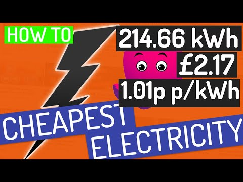 Better than FREE Electricity! | How to get the cheapest Electricity with Octopus Agile