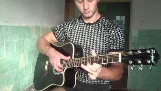Офигенный Испанский бой (El combate español) на гитаре