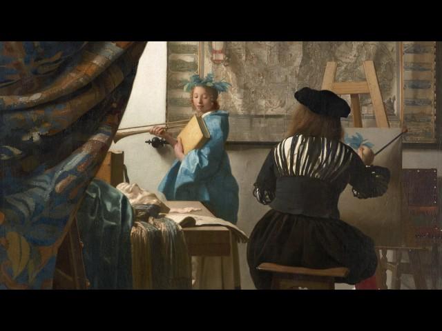 100 Meisterwerke - Die Malkunst - Johannes Vermeer