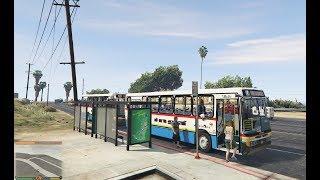 Video GTA V Trabalhando de Motorista de ônibus Urbano Marcopolo Viale Rota 02 Versão 1.5 download MP3, 3GP, MP4, WEBM, AVI, FLV Juli 2018