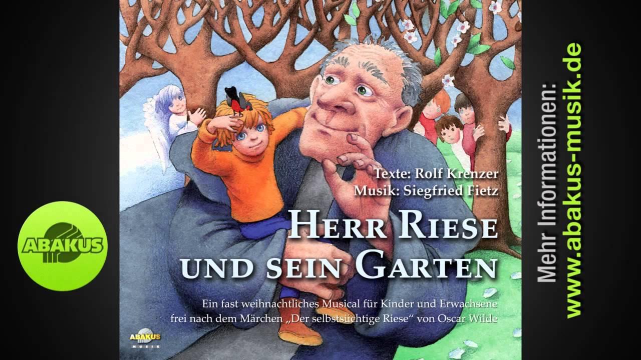 Siegfried Fietz - \'Singt ihr Leute\' aus Herr Riese und sein Garten ...