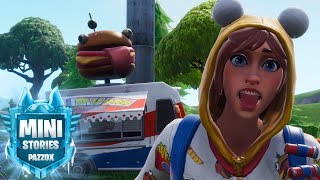 the daughter of BEEF STICKS Fortnite 🍅 🎬 Pazzox Movie Mini Stories-TOMATO