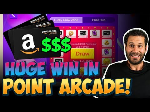 Winning AMAZON Gift Cards From Point Arcade Castle Clash ONETIME!