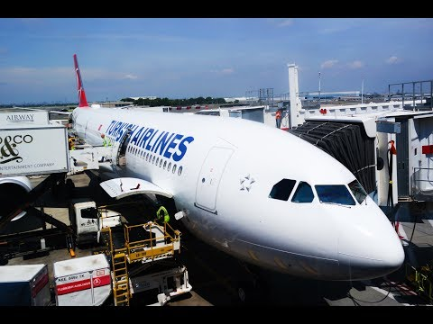 TURKISH AIRLINES | NEW ECONOMY CLASS | NEW YORK JFK - ISTANBUL | AIRBUS A330-300
