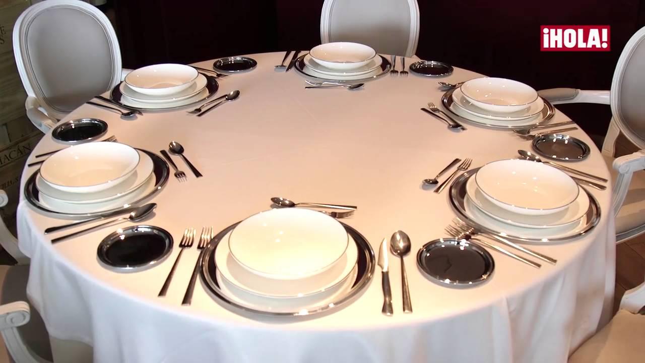 C mo montar una mesa de navidad seg n el protocolo por for Como montar una mesa