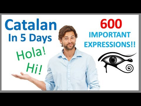 Learn Catalan  in 5 days- Conversation for Beginners