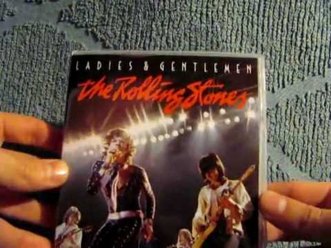 Ladies & Gentlemen The Rolling Stones (U.S. DVD Edition) Unpackaging
