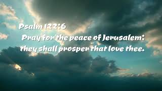 What Is The Peace of Jerusalem? | Why a War-torn Zone? | With Bible Prophecy.