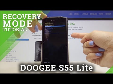 How To Boot Into Recovery Mode In DOOGEE S55 Lite - Android System Recovery Mode