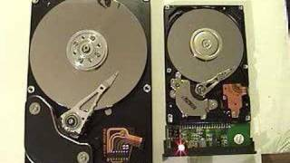 Inside of laptop/notebook hard drive