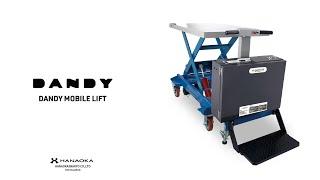 耐荷重1ton 電動走行・昇降リフト台車|DANDY MOBILE LIFT ML1000-02