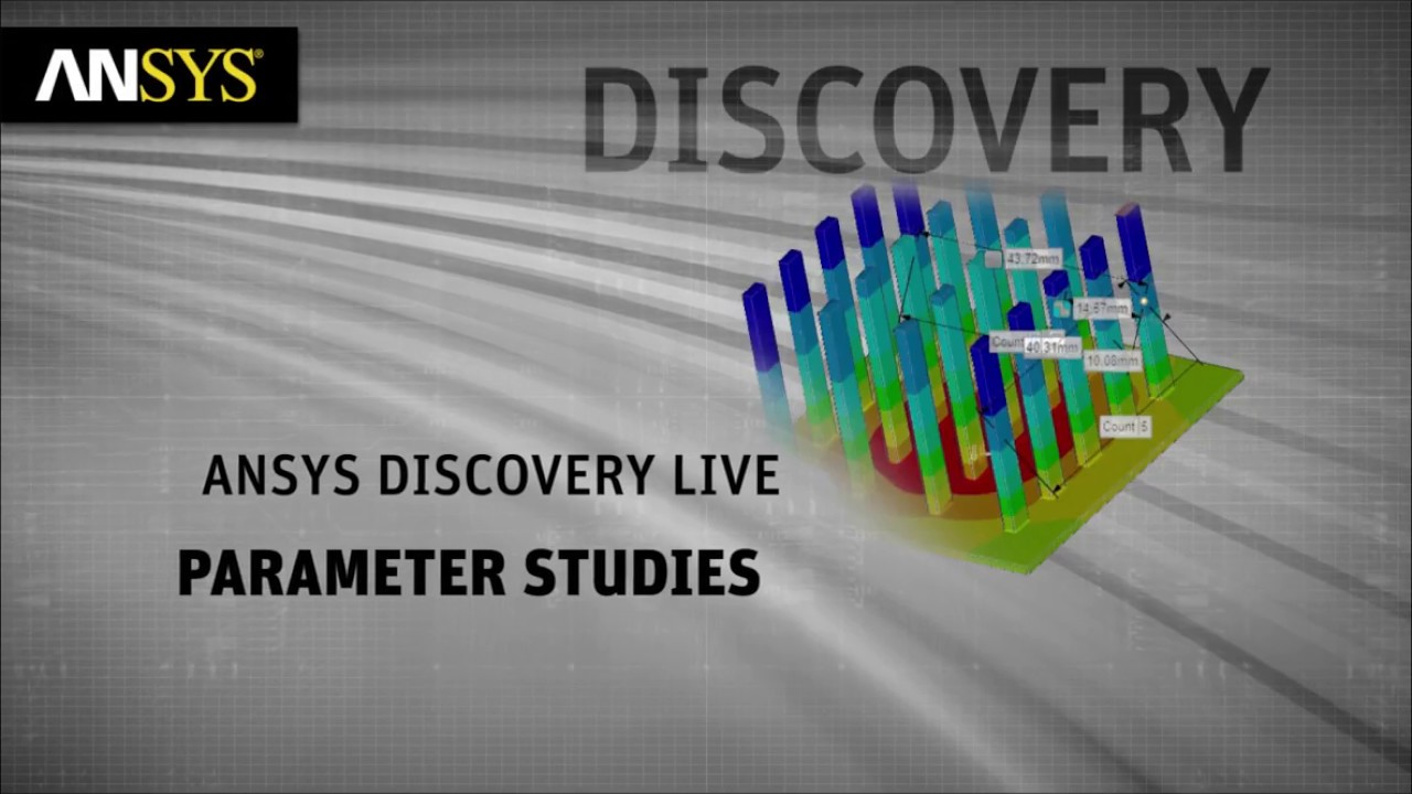 ANSYS Discovery Live 19.2 - Parameter Study