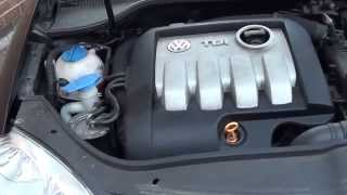 VW Jetta Engine Cover Remove Video