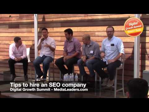 Tips to hire an SEO company (DGS3 Recap)