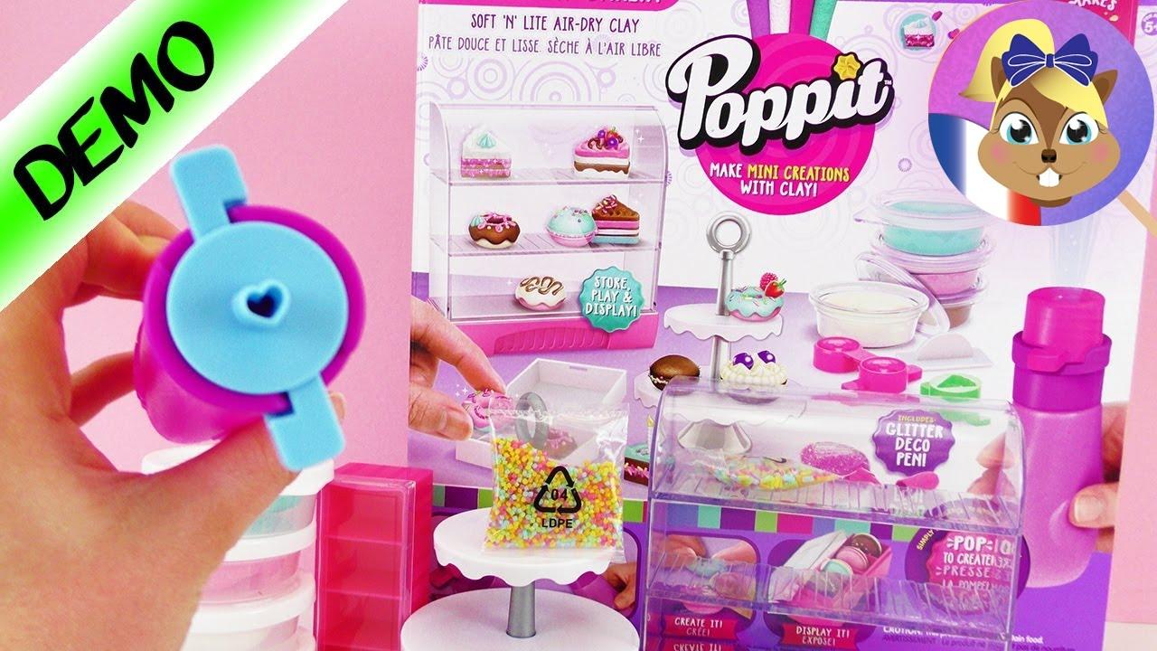 Kit Poppit | Pop N Display Bakery Playset | Donuts Et Macarons à Faire Soi  Même | DIY DEMO