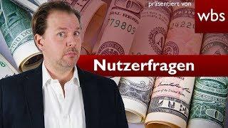 Eure eigene Währung ausgeben - Ist das legal? | Nutzerfragen Rechtsanwalt Christian Solmecke